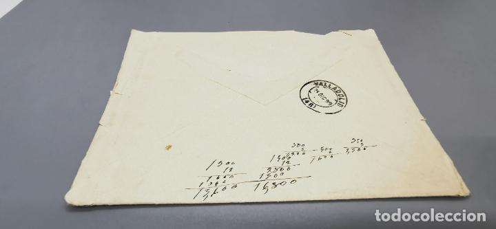 Sellos: SOBRE VALLADOLID CON SELLO MINISTERIO DE GRACIA Y JUSTICIA AÑO 1899 - Foto 4 - 264292816