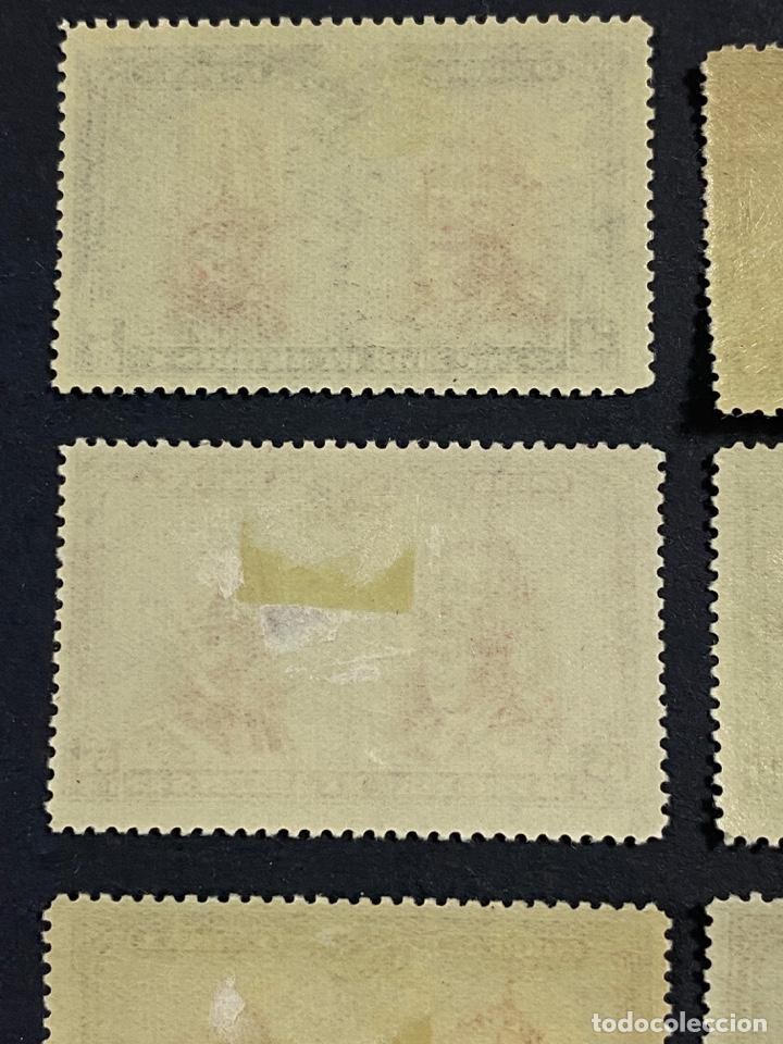Sellos: ESPAÑA, 1928. EDIFIL 402/33. PRO CATACUMBAS. 32 VALORES. NUEVO. CON FIJASELLOS. VER FOTOS - Foto 4 - 265414714