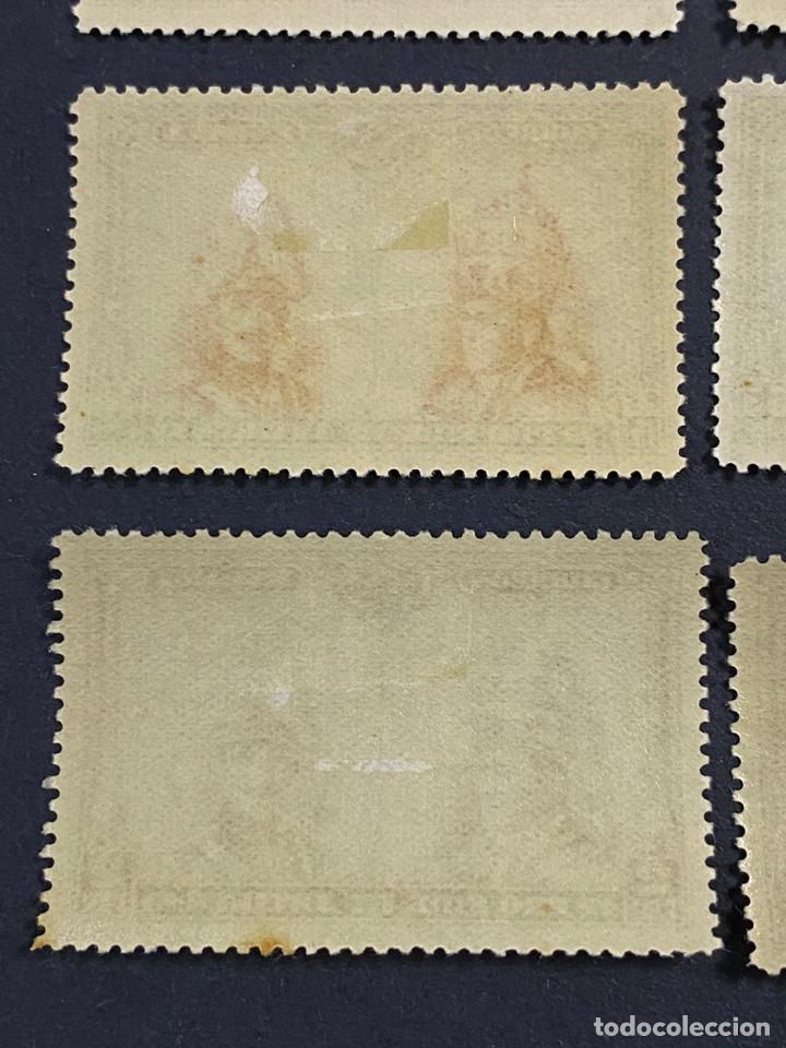 Sellos: ESPAÑA, 1928. EDIFIL 402/33. PRO CATACUMBAS. 32 VALORES. NUEVO. CON FIJASELLOS. VER FOTOS - Foto 8 - 265414714