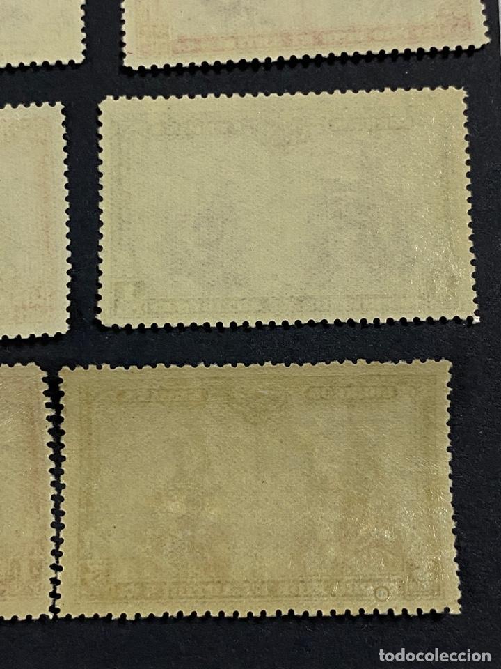 Sellos: ESPAÑA, 1928. EDIFIL 402/33. PRO CATACUMBAS. 32 VALORES. NUEVO. CON FIJASELLOS. VER FOTOS - Foto 29 - 265414714