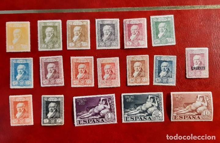 ESPAÑA 1930. 499/516**. SERIE COMPLETA. EL 504 Y 507 SIN GOMA (Sellos - España - Alfonso XIII de 1.886 a 1.931 - Nuevos)