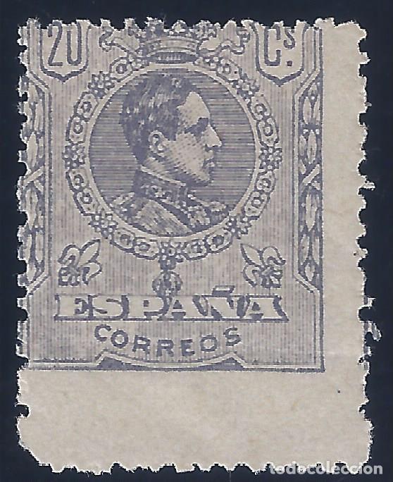 EDIFIL 290 ALFONSO XIII. TIPO MEDALLÓN. 1920 (VARIEDAD..SALTO DE PEINE). VALOR CATÁLOGO: 225 €. MLH. (Sellos - España - Alfonso XIII de 1.886 a 1.931 - Nuevos)