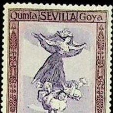 Selos: EDIFIL 526 SELLOS NUEVOS CENTRADO DE LUJO ESPAÑA 1930 QUINTA DE GOYA ESPOSICION SEVILLA. Lote 266771994