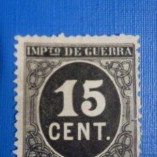 Timbres: SELLO - ESPAÑA - IMPUESTO DE GUERRA - AÑO 1898 - CIFRAS - EDIFIL 238 - 15 CENT - CÉNTIMOS. Lote 266887579