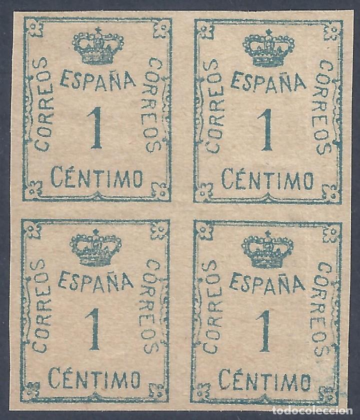 EDIFIL 291 CORONA Y CIFRA. AÑO 1920. EXCELENTE BLOQUE DE 4. MNH ** (Sellos - España - Alfonso XIII de 1.886 a 1.931 - Nuevos)