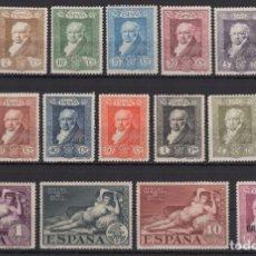 Sellos: 1930 QUINTA GOYA EXP SEVILLA EDIFIL 499/516 MNH ** SERIE COMPLETA VC 95€. Lote 268251164