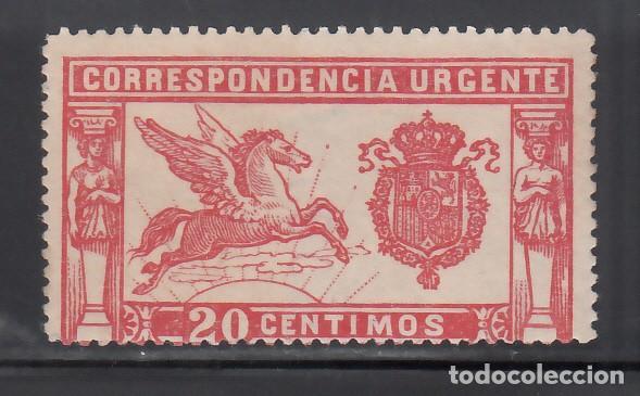 ESPAÑA, 1905 EDIFIL Nº 256 /**/ PEGASO, SIN FIJASELLOS (Sellos - España - Alfonso XIII de 1.886 a 1.931 - Nuevos)