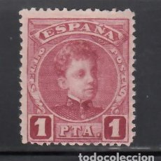 Timbres: ESPAÑA, 1901-1905 EDIFIL Nº 253NA, /*/, 1 PTS CARMÍN, NUMERACIÓN A000,000. MUESTRA. Lote 268447459