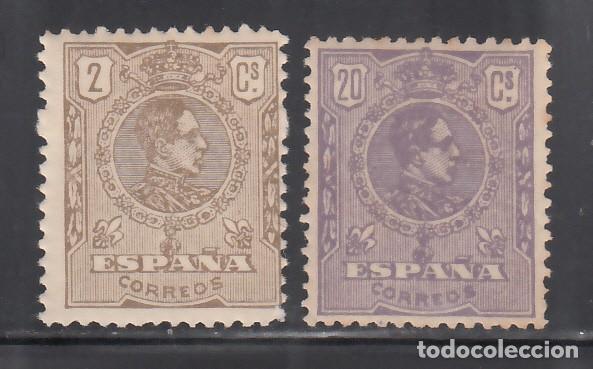 ESPAÑA, 1920 EDIFIL Nº 289 / 290 /*/ ALFONSO XIII, TIPO MEDALLÓN, (Sellos - España - Alfonso XIII de 1.886 a 1.931 - Nuevos)
