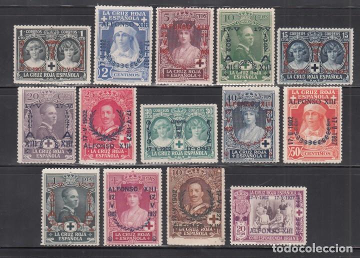 ESPAÑA, 1927 EDIFIL Nº 349 / 362 /**/, ANIVERSARIO DE LA JURA DE LA CONSTITUCIÓN POR ALFONSO XIII (Sellos - España - Alfonso XIII de 1.886 a 1.931 - Nuevos)