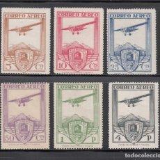Sellos: ESPAÑA. 1930 EDIFIL Nº 483 / 488 /*/ XI CONGRESO INTERNACIONAL DE FERROCARRILES,. Lote 268767464