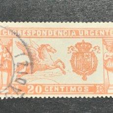 Selos: EDIFIL 324A PEGASO COLOR ROSA, USADO, MUY BUEN ESTADO, LUJO. Lote 268897199