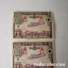 Sellos: 1927 - ESPAÑA - JURA CONSTITUCION POR ALFONSO XIII - EDIFIL 388 ..PAREJA.-. Lote 269312108