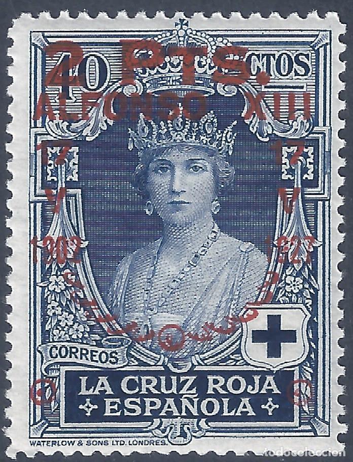 EDIFIL 383 XXV ANIVERSARIO JURA DE LA CONSTITUCIÓN 1927. LUJO. MNH ** (Sellos - España - Alfonso XIII de 1.886 a 1.931 - Nuevos)