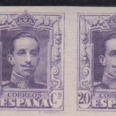 Sellos: 1922-1930 ALFONSO XIII TIPO VAQUER EDIFIL 316S** PAREJA VC 124,00€. Lote 271918683