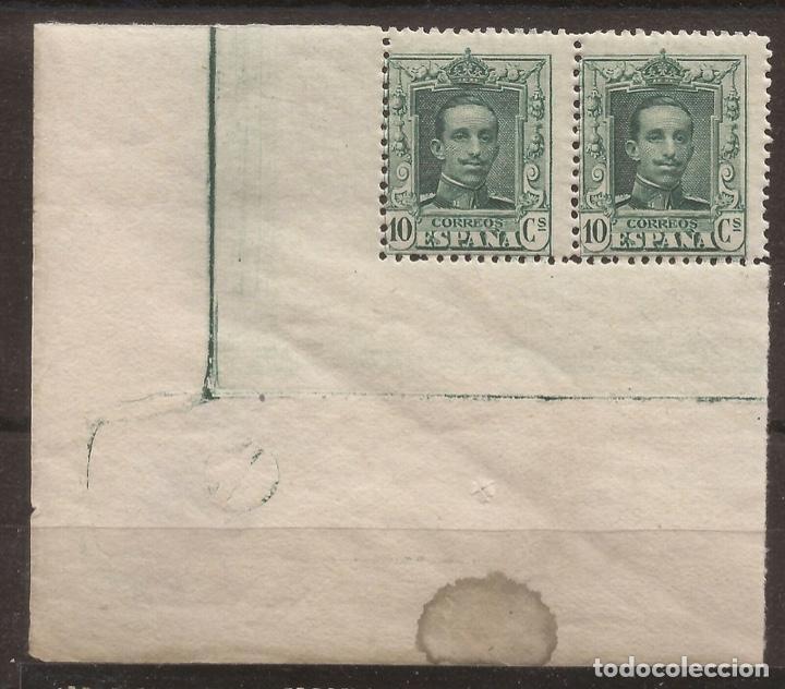 1922-1930 ALFONSO XIII TIPO VAQUER EDIFIL 314** MNH VC 34,50€ PAREJA (Sellos - España - Alfonso XIII de 1.886 a 1.931 - Nuevos)