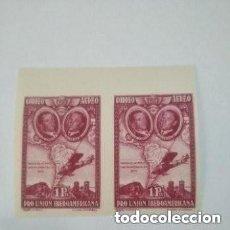 Sellos: 1930 ESPAÑA - EDIFIL 589S - BLOQUE 2. - PRO UNION IBEROAMERICANA - MNH. Lote 275589073