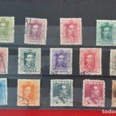 Sellos: ESPAÑA 1922-1930. EDIFIL 310-323. SERIE COMPLETA USADO. Lote 275716368