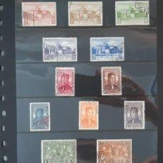 Francobolli: ESPAÑA 1930. EDIFIL 547/558. SERIE COMPLETA CIRCULADOS. BUEN CENTRADO. Lote 275718638