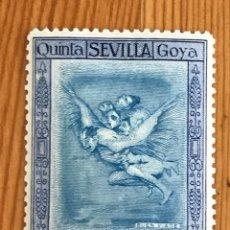 Timbres: GOYA EN LA EXPOSICIÓN DE SEVILLA, CORREO AEREO, 1930, EDIFIL 524, NUEVO CON FIJASELLOS. Lote 276028008