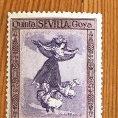Timbres: GOYA EN LA EXPOSICIÓN DE SEVILLA, CORREO AEREO, 1930, EDIFIL 526, NUEVO CON FIJASELLOS. Lote 276028308