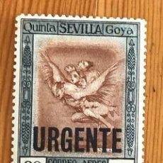 Timbres: GOYA EN LA EXPOSICIÓN DE SEVILLA, CORREO AEREO, 1930, EDIFIL 530, NUEVO CON FIJASELLOS. Lote 276028498