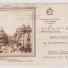 Timbres: CARTA. PATRONATO NACIONAL DE TURISMO. MADRID A ALEMANIA. 1929. Lote 276087973