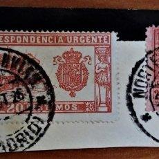 Sellos: ALFONSO XIII VAQUER MADRID NORTE TRANVÍAS 1926 URGENTE. Lote 276805883
