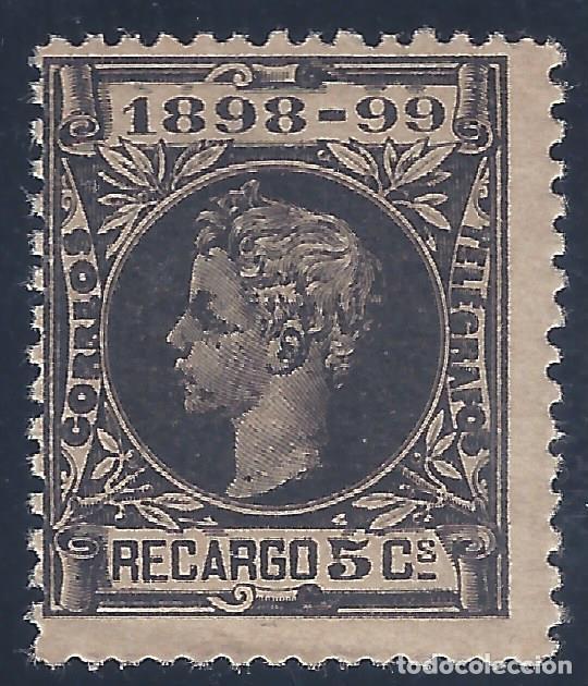 EDIFIL 240 ALFONSO XIII. IMPUESTO DE GUERRA 1898-1899. VALOR CATÁLOGO: 14,50 €. MNH ** (Sellos - España - Alfonso XIII de 1.886 a 1.931 - Nuevos)
