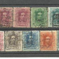 Sellos: ESPAÑA 1922 - LOTE DE 11 SELLOS ALFONSO XIII - USADOS. Lote 277172833