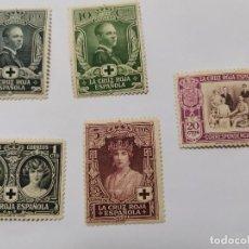 Sellos: PRIMERA EMISIÓN CRUZ ROJA ESPAÑOLA 1926 NUEVOS. Lote 277463868