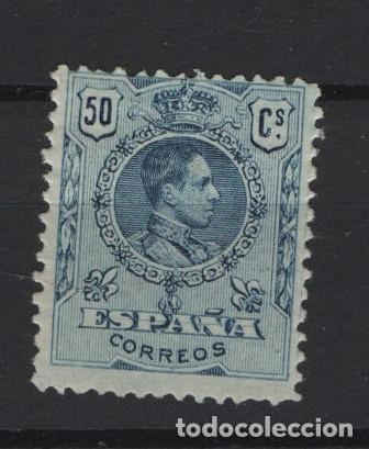 TV_003/ ESPAÑA 1909-22, ALFONSO XIII, TIPO MEDALLON, EDIFIL 277*, VALOR 14,00 € (Sellos - España - Alfonso XIII de 1.886 a 1.931 - Nuevos)