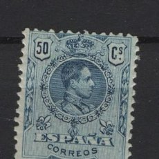 Sellos: TV_003/ ESPAÑA 1909-22, ALFONSO XIII, TIPO MEDALLON, EDIFIL 277*, VALOR 14,00 €. Lote 278217333