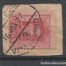 Sellos: ALFONSO XIII FECHADOR AMBULANTE VIGO MADRID. Lote 279383548