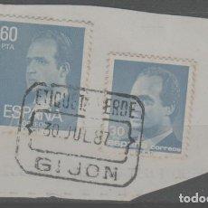 Sellos: LOTE I-MATA SELLOS GIJON ASTURIAS ESPAÑA. Lote 279411678
