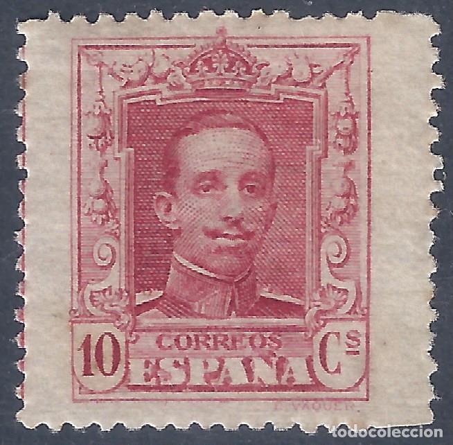 EDIFIL 313 ALFONSO XIII. TIPO VAQUER 1922 (VARIEDAD...SALTO DE PEINE HORIZONTAL). LUJO. MNH ** (Sellos - España - Alfonso XIII de 1.886 a 1.931 - Nuevos)