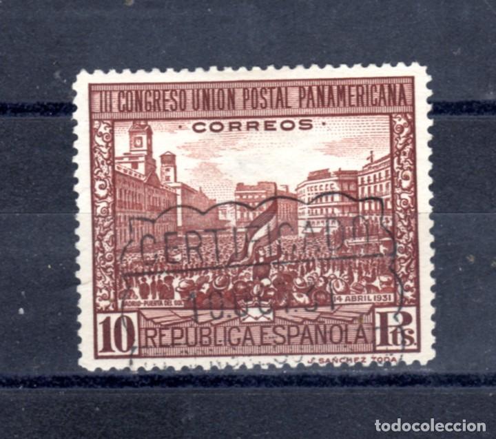 ED Nº 613 U.P. PANAMERICANA USADO (Sellos - España - Alfonso XIII de 1.886 a 1.931 - Usados)