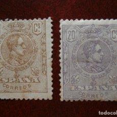 Sellos: ESPAÑA PRIMER CENTENARIO - ALFONSO XIII 1920 - EDIFIL 289/290 TIPO MEDALLON -.. Lote 284456498