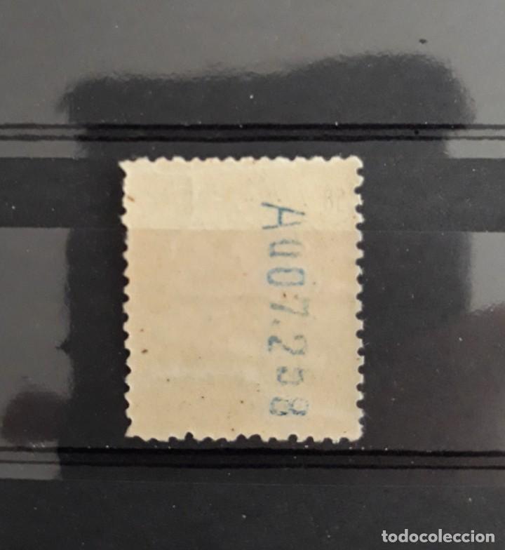 Sellos: EDIFIL 277 ** ALFONSO XIII 50 CTOS AZUL ESPAÑA 1909 - Foto 2 - 285518488