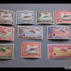 Sellos: ESPAÑA- 1926 -ALFONSO XIII - EDIFIL 339/348 - SERIE COMPLETA - MNH** - NUEVOS - VALOR CATALOGO 310€. Lote 285598248