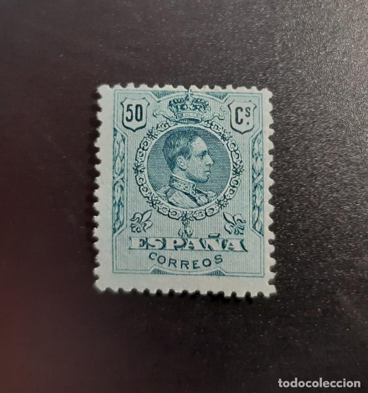 ESPAÑA 1909-22. EDIFIL 277**. NUEVO SIN FIJASELLOS (Sellos - España - Alfonso XIII de 1.886 a 1.931 - Nuevos)