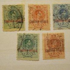 Timbres: AÑO 1920 ALFONSO XIII TIPO MEDALLON USADOS EDIFIL 292-293-294-295-296 VALOR DE CATALOGO 72.00 EUROS. Lote 287048078