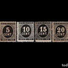 Sellos: ESPAÑA - 1898 - ALFONSO XIII - EDIFIL 236/239 - SERIE COMPLETA - MH* - NUEVOS - VALOR CATALOGO 103€. Lote 287166258