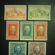Francobolli: AÑO 1930 DESCUBRIMIENTO DE AMERICA SELLOS NUEVOS EDIFIL 559-565 VALOR DE CATALOGO 45,00 EUROS. Lote 287386643