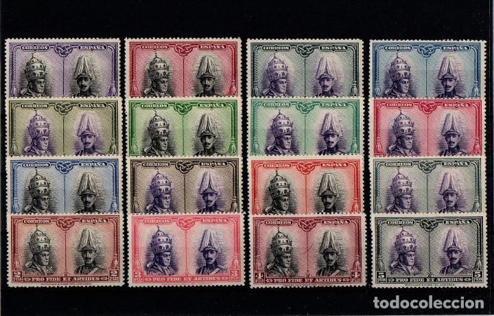 EDIFIL 402/33, NUEVOS CON FIJASELLOS Y SIN FIJASELLOS +64 +65 (Sellos - España - Alfonso XIII de 1.886 a 1.931 - Nuevos)