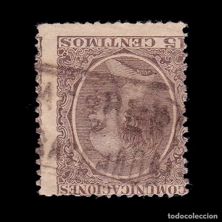CARTERÍA.ALFONSO XIII.TIPO PELÓN.15C.CACERES.CASATEJADA (Sellos - España - Alfonso XIII de 1.886 a 1.931 - Usados)
