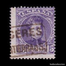 Sellos: CARTERÍA.ALFONSO XIII.15C.CACERES.SALVATIERRA DE S. Lote 288422143