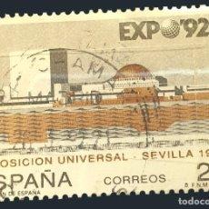 Sellos: MICHEL ES 3029 - ESPAÑA - EXPO '92 WORLD'S FAIR - PABELLÓN DE ESPAÑA - 1992. Lote 288428763