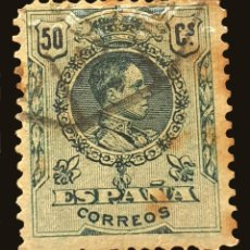 Sellos: MICHEL ES 239 - ESPAÑA - KING ALFONSO XIII (TIPO MEDALLÓN) (1909-1921) - 1909. Lote 288464283