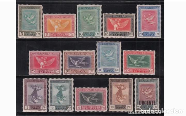 ESPAÑA - 1930 - ALFONSO XIII - EDIFIL 517/530 - SERIE COMPLETA - MH* - NUEVOS. (Sellos - España - Alfonso XIII de 1.886 a 1.931 - Nuevos)